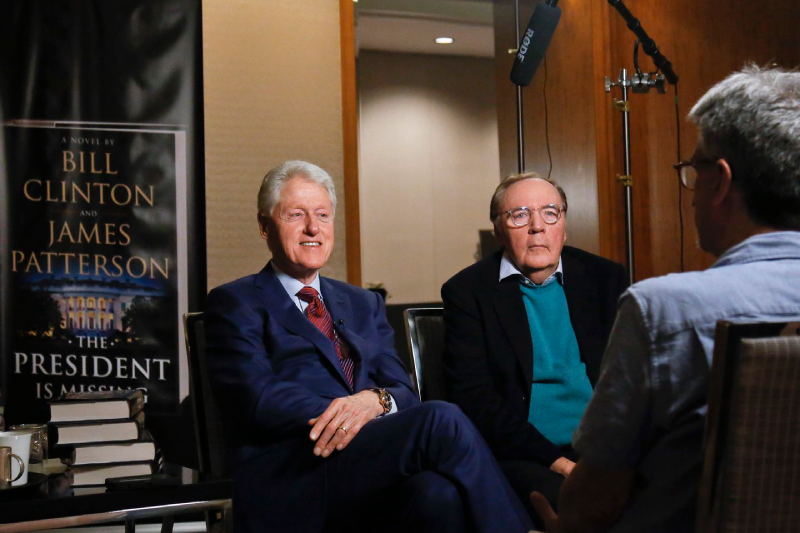 Clinton and Patterson again team up for political thriller