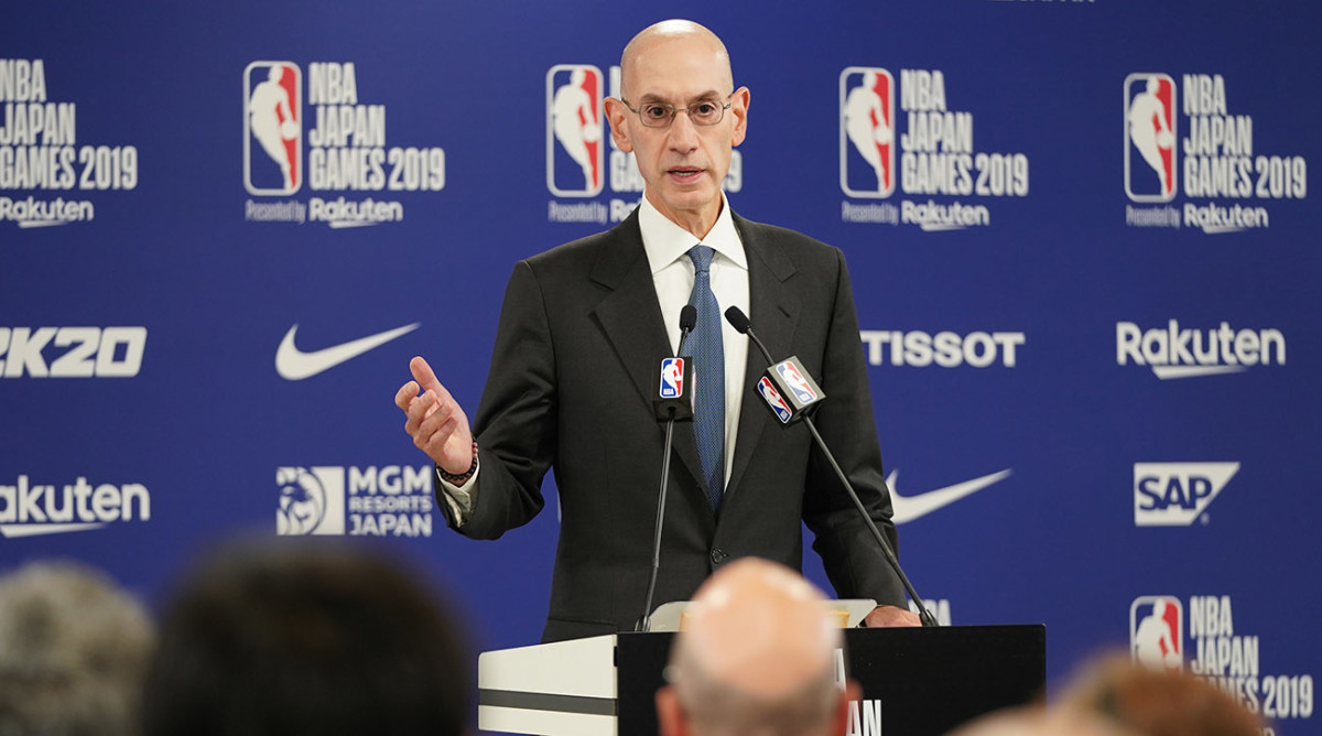 NBA's Silver says Hong Kong tweet furor already hit league's bottom line