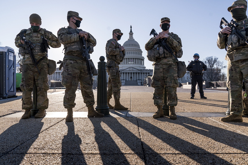Capitol Police ask National Guard to stay for two more months: