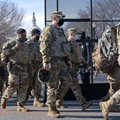 Guard troops pour into Washington as states answer the...